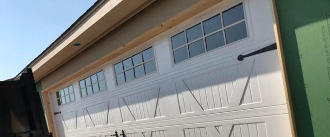 Garage Doors Now Available For Pickup for Individual Sales in Amarillo, TX